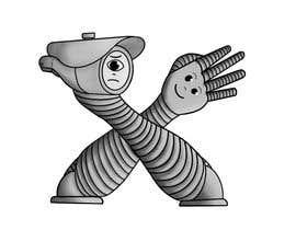 #37 для Draw me two robot-arm cartoon characters от JRS14