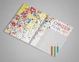 #24 for Pixel Notebook Cover Simple Design - Back&Forth. by rayanfahim