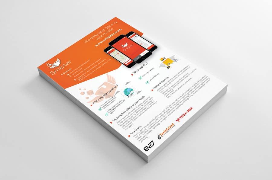 Contest Entry #                                        21                                      for                                         Design an A4 Brochure for Smipter's Executive Summary