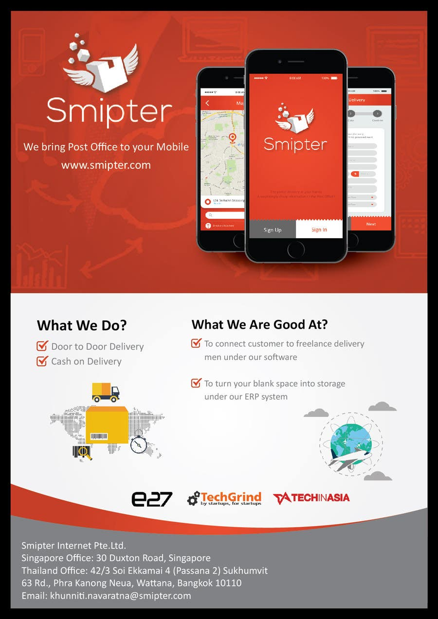 Contest Entry #7 for Design an A4 Brochure for Smipter's Executive Summary