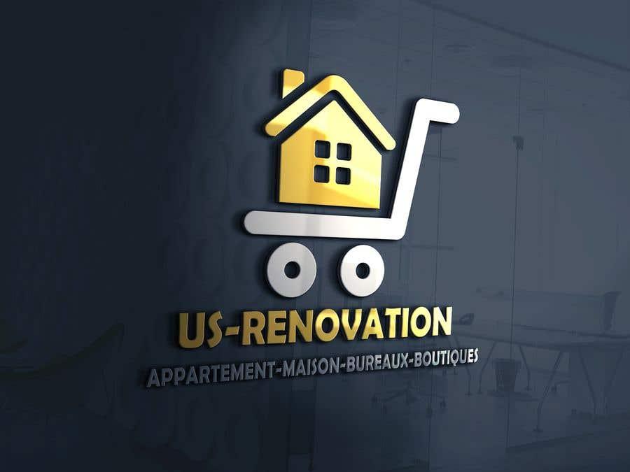 Proposition n°                                        102                                      du concours                                         je besoin crée logo pour ma entreprise de rénovation