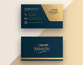 #440 cho Xanadu Luxury Charters - Business Card Design bởi sabuj6514