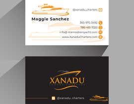 #446 cho Xanadu Luxury Charters - Business Card Design bởi MHnoyon6