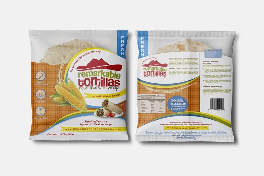 Kilpailutyö #                                        23                                      kilpailussa                                         Extra Soft Corn Tortilla