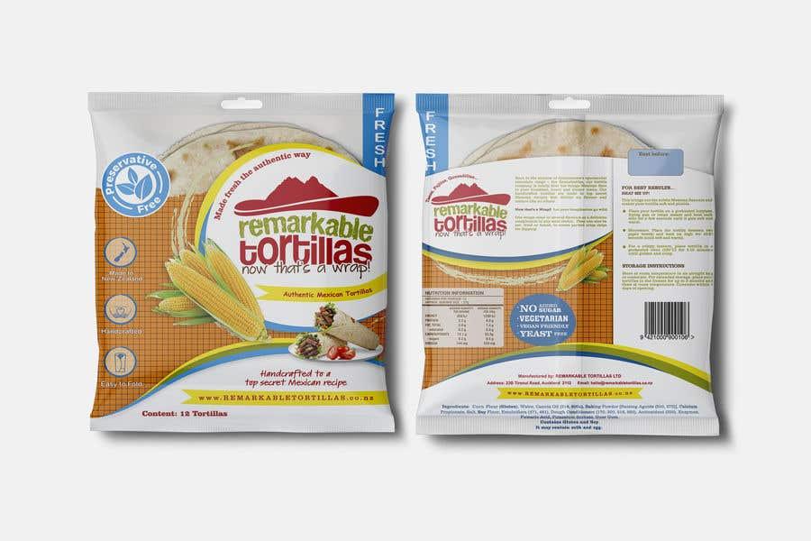 Kilpailutyö #                                        24                                      kilpailussa                                         Extra Soft Corn Tortilla