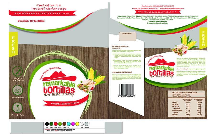 Kilpailutyö #                                        3                                      kilpailussa                                         Extra Soft Corn Tortilla
