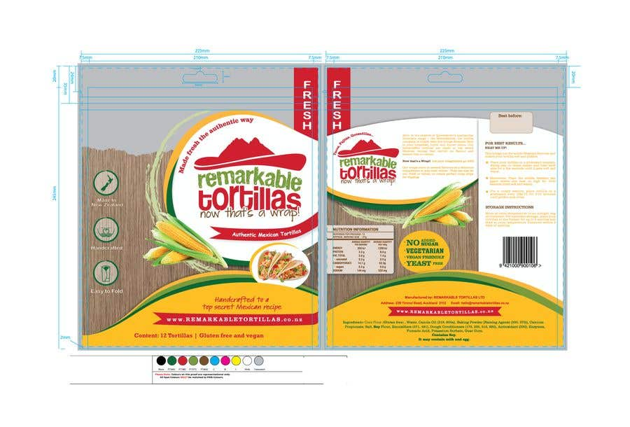 Contest Entry #                                        16                                      for                                         Extra Soft Corn Tortilla