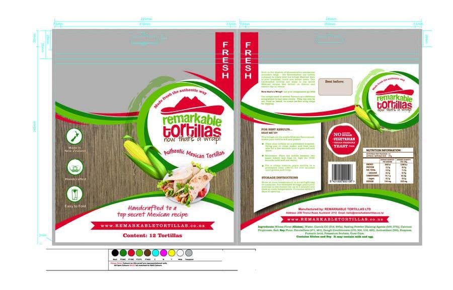 Kilpailutyö #                                        20                                      kilpailussa                                         Extra Soft Corn Tortilla