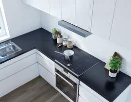 nº 55 pour 3D rendering kitchen, bathroom. par rezonbd