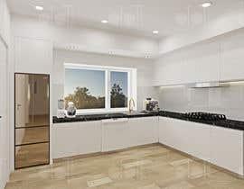 nº 42 pour 3D rendering kitchen, bathroom. par lowsooee87