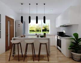 nº 1 pour 3D rendering kitchen, bathroom. par ialderino