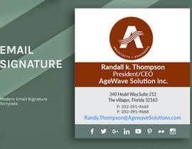 Nro 90 kilpailuun Email signature template käyttäjältä mdalrabbyridoy