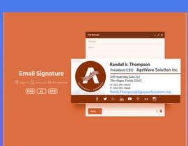 Nro 91 kilpailuun Email signature template käyttäjältä mdalrabbyridoy