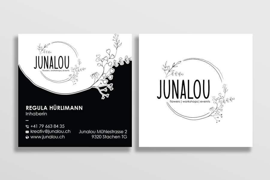 Kilpailutyö #                                        378                                      kilpailussa                                         Design square business cards, Convert Pixel logo to paths