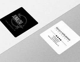 #316 pentru Design square business cards, Convert Pixel logo to paths de către sydul24