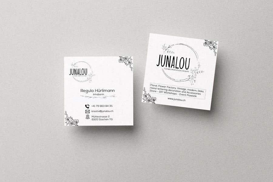 Kilpailutyö #                                        230                                      kilpailussa                                         Design square business cards, Convert Pixel logo to paths
