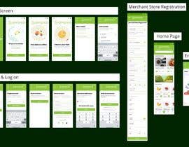 bishalchandra tarafından iOS & Android - UI / UX / IxD Design for eCommerce app - Part 1 için no 43