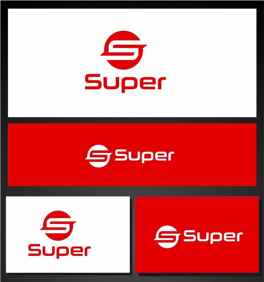 Konkurrenceindlæg #63 for Design a Logo for Super