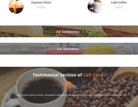 #7 untuk Create two Wordpress Templates for a Coffee Startup oleh sutapatiwari86