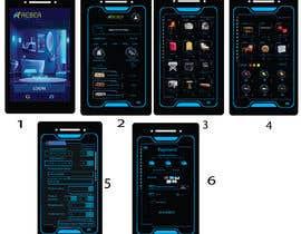 #33 for design futuristic app for furniture shop by rajjeetsaha
