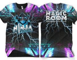 #169 for Ninja Academy T-shirt contest af moisanvictores
