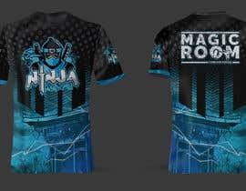 #173 for Ninja Academy T-shirt contest af moisanvictores