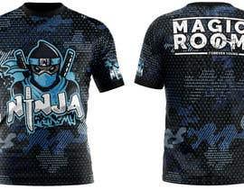 #160 for Ninja Academy T-shirt contest af Emranhossain388
