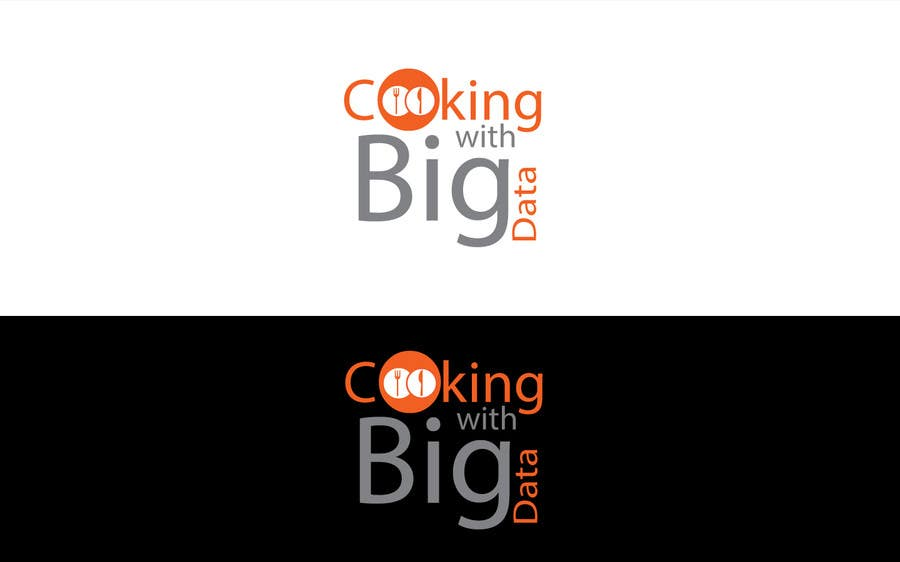 #72 for Design a new website logo - Cooking with Big Data by jeganr