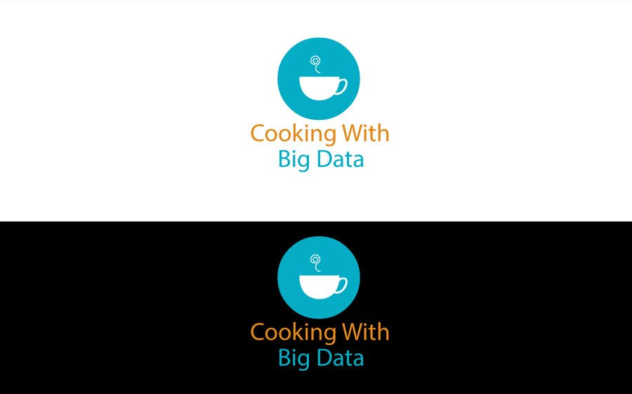 #73 for Design a new website logo - Cooking with Big Data by jeganr