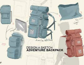 #10 for Design a sketch of an adventure backpack af hsandali