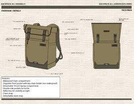 #15 for Design a sketch of an adventure backpack af arizaabdilah