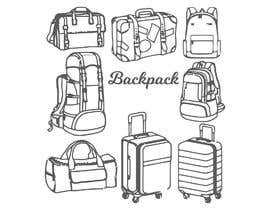#19 for Design a sketch of an adventure backpack af kamrulhasan34244
