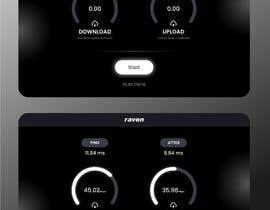 #8 for UI Design for Speed Test page af serwar