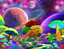 #59 untuk Create Fantasy / Psychedelic 3D Scene Landscape Artwork oleh panjamon