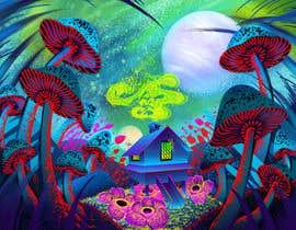 #48 untuk Create Fantasy / Psychedelic 3D Scene Landscape Artwork oleh maryseasan19