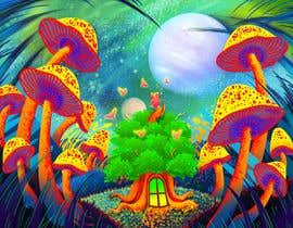 #69 untuk Create Fantasy / Psychedelic 3D Scene Landscape Artwork oleh maryseasan19