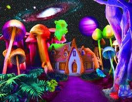 #41 untuk Create Fantasy / Psychedelic 3D Scene Landscape Artwork oleh Plurinx