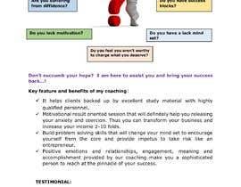 Nro 7 kilpailuun I need a highly engaging sales page for my coaching business. käyttäjältä adhikarysp