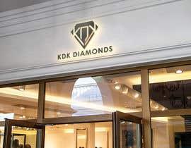 Nro 35 kilpailuun Logo Design for KDK Diamonds käyttäjältä lanjumia22