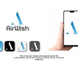 Shorna698660 tarafından I need a logo designed for my company. AirWish. I would like an app button included too. I would like white on blue colour scheme. Thank you :) için no 43