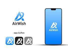 mfawzy5663 tarafından I need a logo designed for my company. AirWish. I would like an app button included too. I would like white on blue colour scheme. Thank you :) için no 29