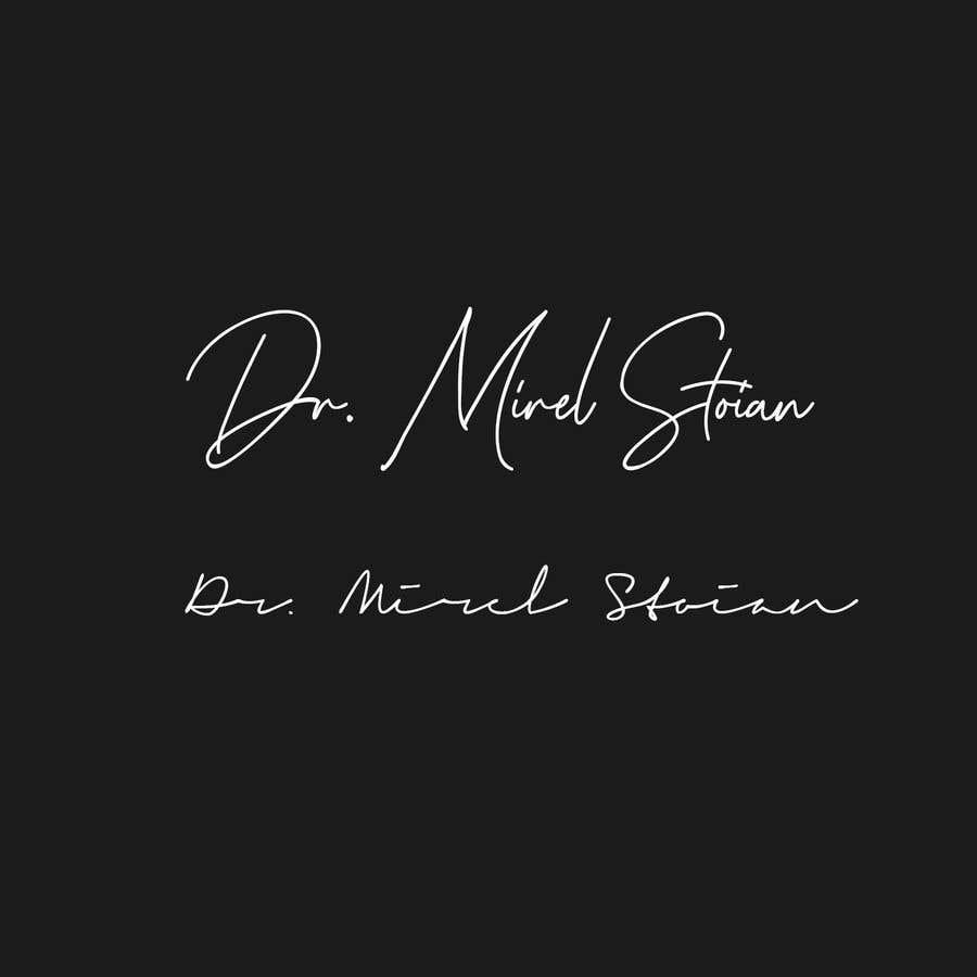 Kilpailutyö #                                        236                                      kilpailussa                                         Dr. Mirel Stoian signature