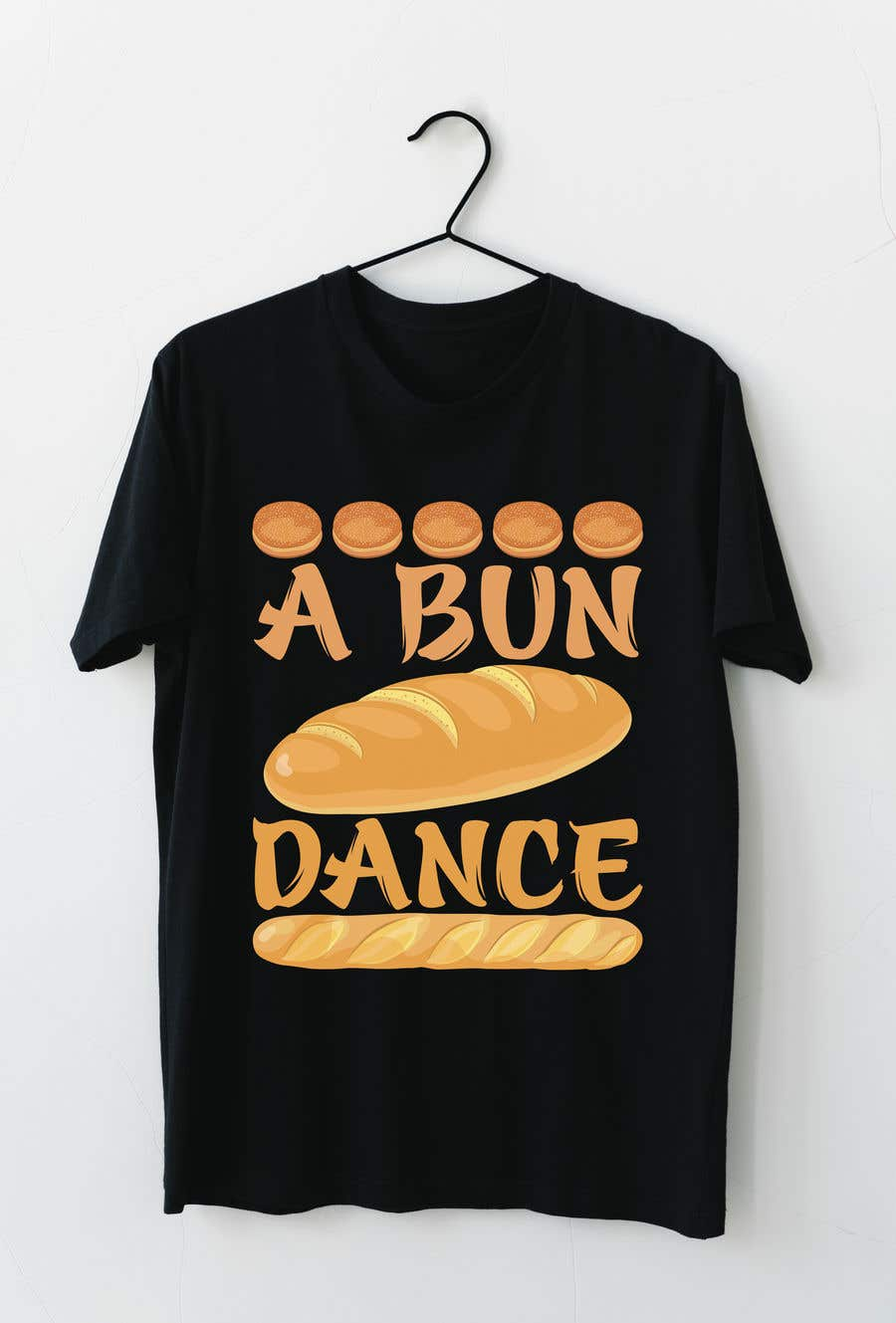Bài tham dự cuộc thi #                                        15                                      cho                                         A Bun Dance Graphic Design T-Shirt
