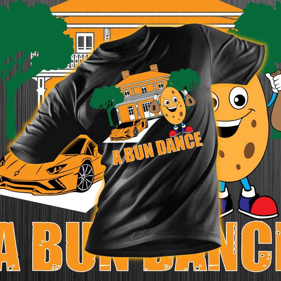 Bài tham dự cuộc thi #                                        49                                      cho                                         A Bun Dance Graphic Design T-Shirt