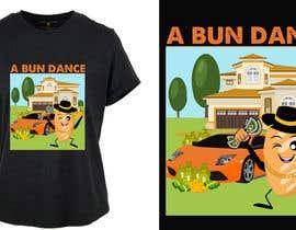 #41 untuk A Bun Dance Graphic Design T-Shirt oleh shatabdi3626