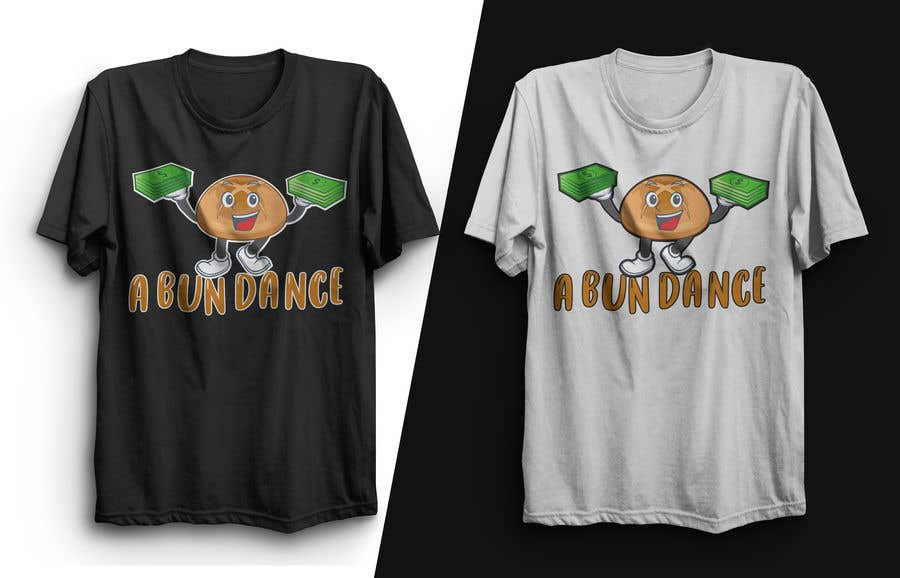 Bài tham dự cuộc thi #                                        44                                      cho                                         A Bun Dance Graphic Design T-Shirt