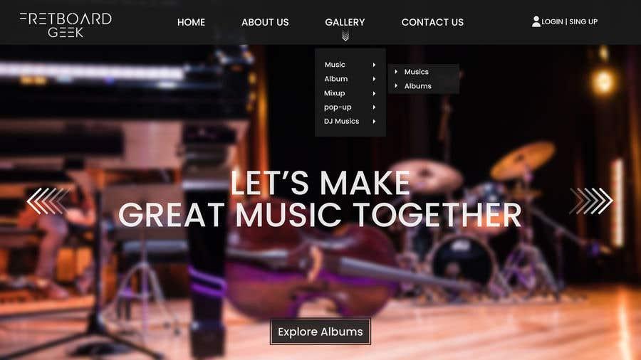 Конкурсная заявка №                                        23                                      для                                         Freshen up home page of web site