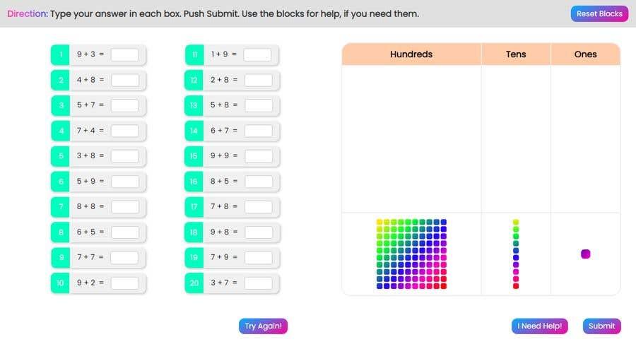 Kilpailutyö #                                        28                                      kilpailussa                                         Contest - Redesign 1 page Math Sheet