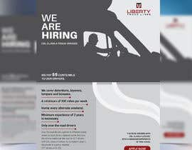 #44 for Poster for Hiring CDL class-A Truck drivers for Liberty truck lines af liponrahman