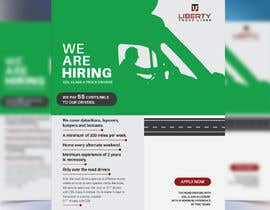 #50 for Poster for Hiring CDL class-A Truck drivers for Liberty truck lines af liponrahman